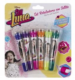 311626782 - Set 6 markere plus stampila SOY LUNA