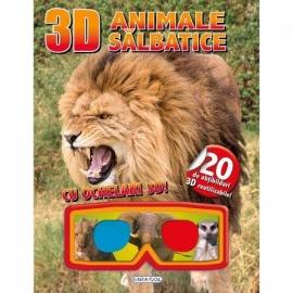3D Abtibilduri - Animale salbatice