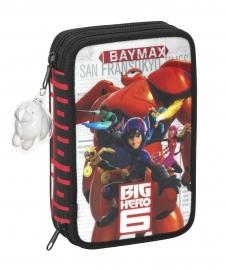 411537054 - Penar dublu echipat 34 piese Big Hero 8 20.5x13.5x4.5