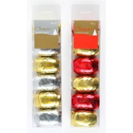 Accesorii mosorase cu panglica colorata (6x10mx5mm)