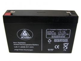 Acumulator 6V pentru masinute copii Injusa
