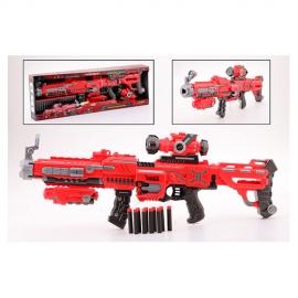 Arma cu luneta si 22 de gloante din spuma