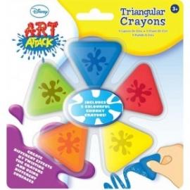Art Attack Disney-Set 5 creioane speciale de colorat