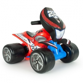 ATV Electric Quad Wrestler Red 6V - Injusa