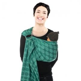 Babylonia sistem de purtare sling cu inel Jacquard BB-Sling Wasabi