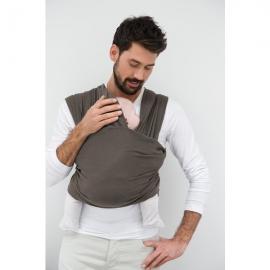 Babylonia sistem de purtare wrap elastic Tricot Slen Organic Moon Mist Grey