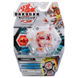 BAKUGAN S2 BILA ULTRA DRAGONOID RED CU CARD BAKU-GEAR