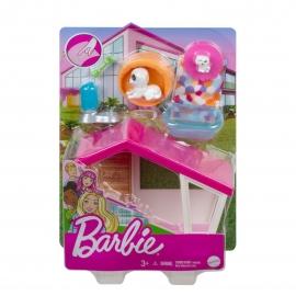 BARBIE SET MOBILIER EXTERIOR CASA BARBIE CASUTA CATELUSILOR