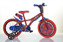 Bicicleta copii 14 '' Spiderman