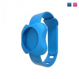 Bratara din silicon pentru Localizator bluetooth Lapa, dispozitiv de urmarire copii - Culoare - Albastru
