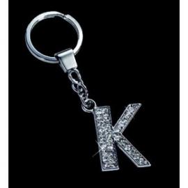 Breloc cu cristale litera K