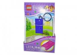 Breloc cu lanterna LEGO® Friends placa indigo