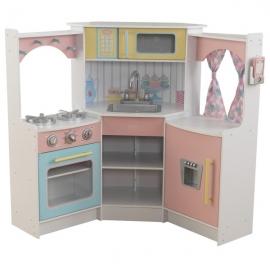 Bucatarie pentru copii Deluxe Corner Play - KidKraft