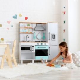 Bucatarie Gourmet Chef Play cu  EZ Kraft Assembly™ - Kidkraft