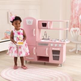 Bucatarie Vintage Play Kitchen - Pink - Kidkraft