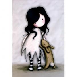 Caiet premium A5 Gorjuss I love you little rabbit