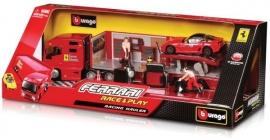 Camion de service Ferrari cu masina inclusa