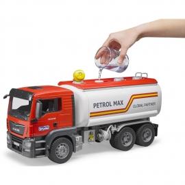Camion Man TGS pentru transport compustibil