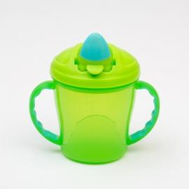 Canuta Free-Flow Cup 4 luni+ - Culoare - Turcoaz/Verde