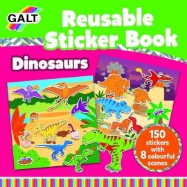 Cartea mea cu stickere - Dinozauri