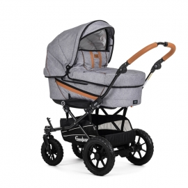 Carucior Edge Duo - Outdoor Grey - Emmaljunga