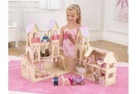 Casuta pentru papusi Princess Castle - KidKraft