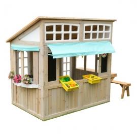 Casuta de joaca Meadowlane Market Playhouse – KidKraft