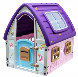 Casuta de joaca UNICORN GRAND HOUSE - Starplast