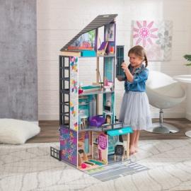Casuta pentru papusi Bianca City Life Dollhouse – Kidkraft