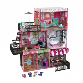 Casuta pentru papusi Brooklyn's Loft – KidKraft