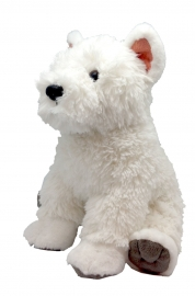 Catel Westie - West Highland White Terrier - Jucarie Plus Wild Republic 30 cm