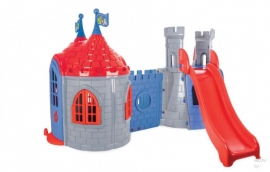 Complex de joaca cu tobogan si castel DRAGON CASTLE - Pilsan