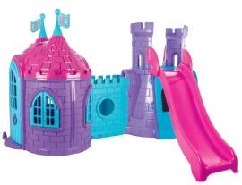 Centru de joaca cu tobogan si castel - PRINCESS CASTLE WITH SLIDE