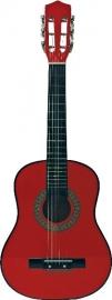 Chitara  lemn 72 cm., rosie