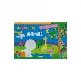 Coloram cu sabloane - Animale