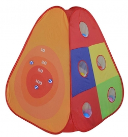Cort de joaca cu 30 bile Bullseye