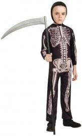 Costum baieti Skeleton marimea S