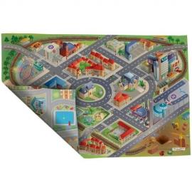 Covoras de Joaca Imprimeu Dublu Ecomat - Oras si District