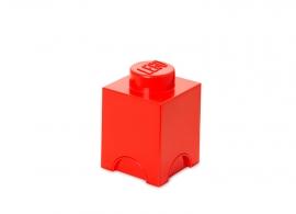 Cutie depozitare LEGO® 1x1 rosu