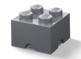 Cutie depozitare LEGO® 2x2 gri inchis (40051754)
