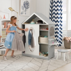 Dulapior cu masa de toaleta Dress Up Armoire and Vanity - KidKraft