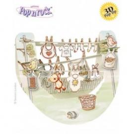 Felicitare 3D Popnrock-Bebelus
