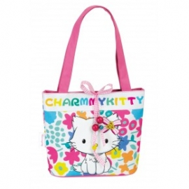 Geanta de umar Charmmy Kitty Flowers