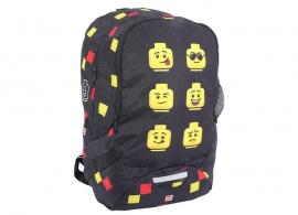 Ghiozdan LEGO® Faces - Negru