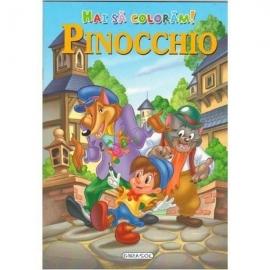 Hai sa coloram! Pinocchio