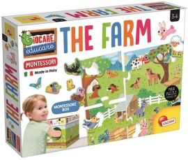 Joc tactil Montessori -  Ferma