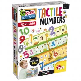 Joc tactil Montessori - Numaram si ne distram