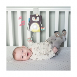 Jucarie multifunctionala cu inel gingival-Pinguinul Prince Taf Toys