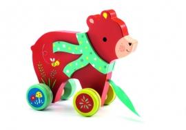 Jucărie de tras ursulețul Laslo