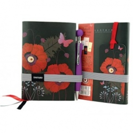 Jurnal Gorjuss cu pix Poppies